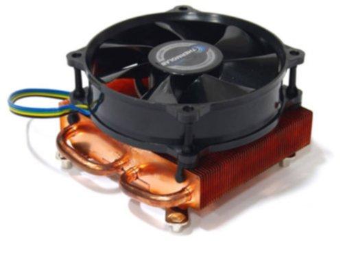ThermoLab 【HASWELL対応】全高53mm 全銅 ロープロファイルCPUクーラー LGA1150/1155/1156専用 TDP100W ITX30