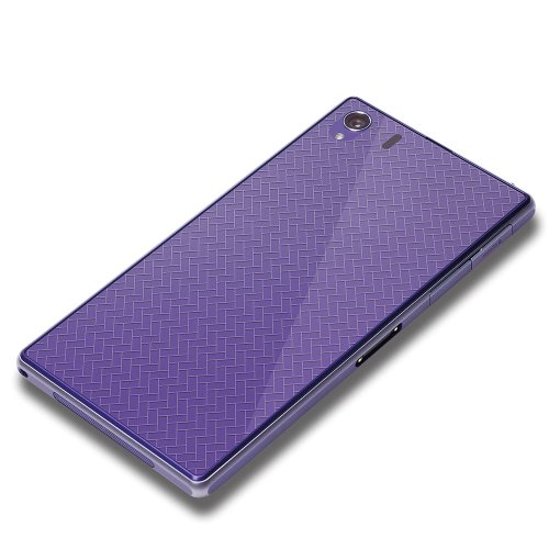 PGA Xperia Z1 SO-01F用 背面保護フィルム デザイン カーボン調 PG-SO01F08HD
