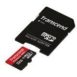 【Amazon.co.jp限定】Transcend microSDHCカード 32GB Class10 UHS-I対応 400× (無期限保証) Newニンテンドー3DS 動作確認済み TS32GUSDU1PE (FFP)