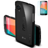 【国内正規品】Spigen Nexus 5 ケース ウルトラ フィット シェル ECO-Friendly Packaging (クリスタル【SGP10650】)