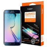 Galaxy S6 Edge フィルム, Spigen® 全面液晶保護フィルム カーブド・クリスタル 前面フィルム 1枚 背面フィルム 1枚 (2015年 モデル) (国内正規品) (Galaxy S6 Edge, カーブド・クリスタル 【SGP11537】)