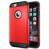 iPhone 6 ケース Spigen Apple iPhone 4.7 (2014) スリム アーマー (国内正規品) (エレクトリック・レッド 【SGP10956】)