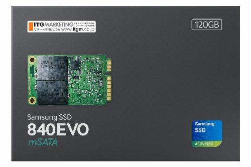 Samsung SSD840EVO mSATA120GB MZ-MTE120B/IT (国内正規代理店 ITGマーケティング取扱い品)