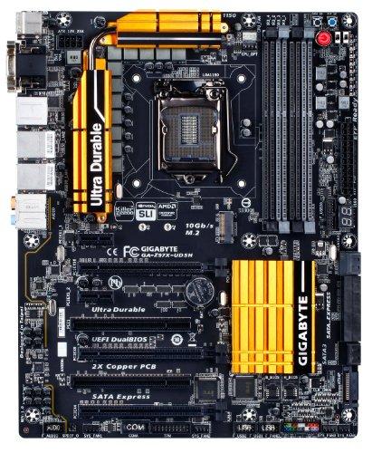 GIGABYTE マザーボード intel Z97 LGA1150 ATX スタンダードシリーズ GA-Z97X-UD5H