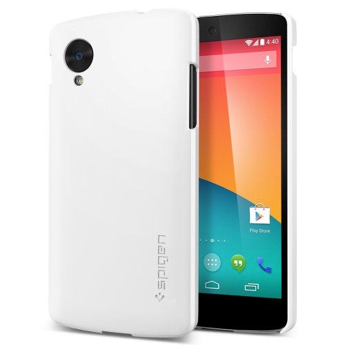 【国内正規品】SPIGEN SGP Nexus 5 ケース ウルトラ フィット ECO-Friendly Packaging (スムース・ホワイト【SGP10561】)