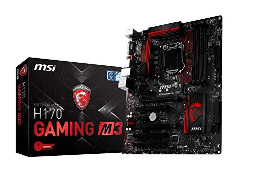 MSI H170 GAMING M3 ATXマザーボード MB3495 H170 GAMING M3