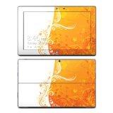 Microsoft Surface Pro/マイクロソフトサーフェスプロ用スキンシール【Orange Crush】