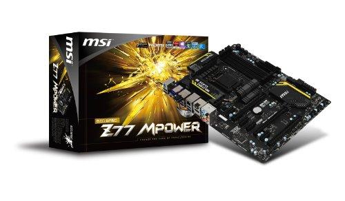 MSI ATX マザーボード Intel Z77チップセット 搭載 オーバークロック向け設計 OC Certified準拠 日本正規代理店品 (MB1922) Z77 MPower