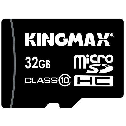 KINGMAX microSDHCカード ハイスピード class10 32GB SDHC変換アダプタ付 永久保証 KM-MCSDHC10X32G