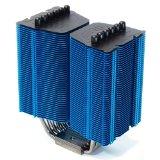 PROLIMATECH メガハレムズ サイドフロータイプCPUクーラー ブルー 12/14cmファン最大2個搭載可能 intel専用 BLUE Megahalems