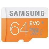 日本サムスン正規品 SAMSUNG EVO microSDXCカード SD変換アダプタ付 UHS-I Class10 64GB MB-MP64DA/JPEC 最大転送速度48MB/s 10年保証