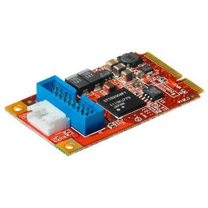玄人志向 インターフェイス MiniPCIeスロット用USB3.0増設カード USB3.0-MPCIE