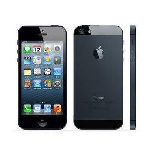 【海外版SIMフリー】iPhone5 16GB BLACK ブラック 黒