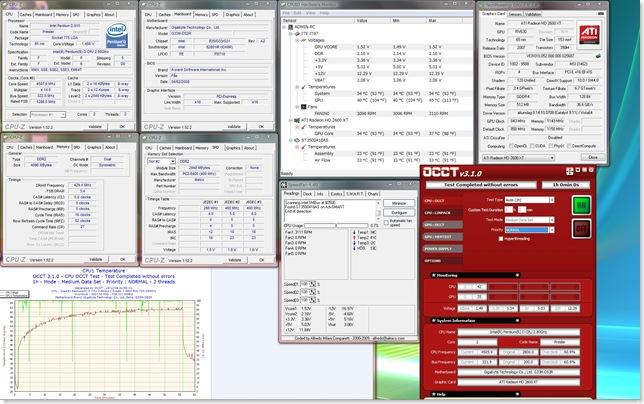 PentiumD_915_4.5GHz Vcore_1.6V