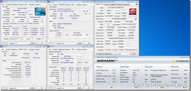 XeonE5620_3.6GHz_matrix5870_3dmark06_score