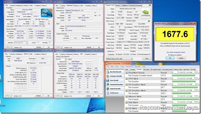 Xeon_E5620_2.4GHz_GTX280_perfomancebench7.0