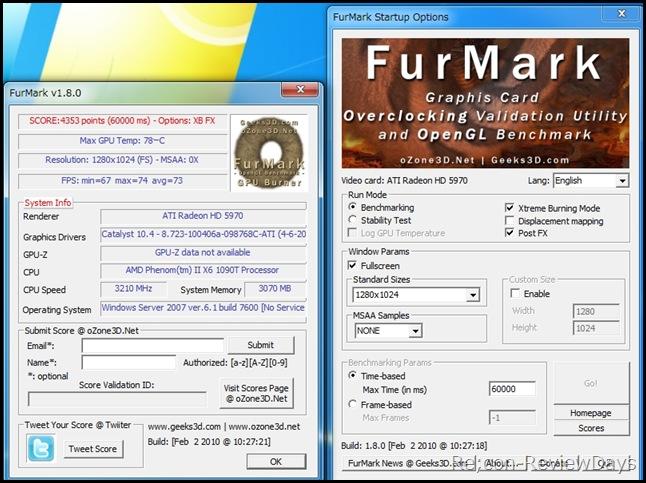 PhenomII_X6_1090T_3.2GHz_FurMark1.8_teifuka