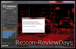 CINEBENCH-Error