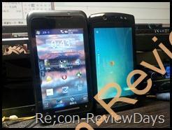 異なるWindowsを搭載するスマートフォンたち