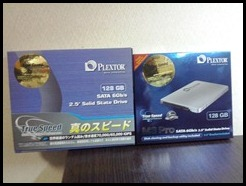 PlextorのM3P 128GBを購入しました