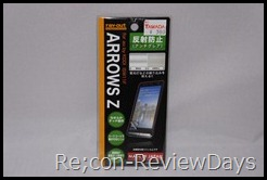 ARROWS Z (ISW11F)向けお勧め液晶保護シート RT-ISW11FF/B1 適当なレビュー