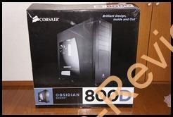 CORSAIR Obsidian 800D(CC800DW)を購入
