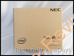 NEC Versa Pro J PC-VJ12AMZR6 着弾