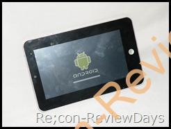 """Android タブレット iRobot 7"""" MID 適当なレビュー"""
