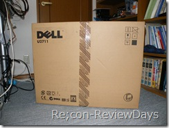 DELL 27型ワイド WQHD U2711 適当なレビュー