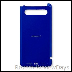 ARROWS Z (ISW11F)用電池蓋 ストリームブルー (FJI11TLA) 適当なレビュー