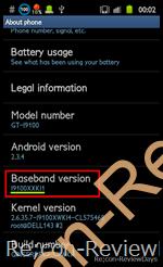 Galaxy S II(GT-I9100) 2.3.4でrootを取得