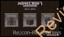 Minecraft – Pocket Edition 0.1.3alpha 適当なレビュー