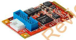玄人志向からmini PCI Express → USB 3.0ピンヘッダに変換するカードが登場