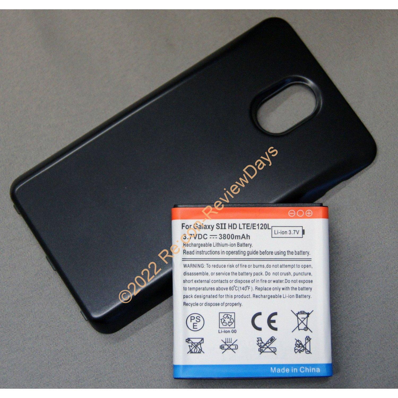 Galaxy S II WiMAX (ISW11SC)の大容量バッテリーが着弾