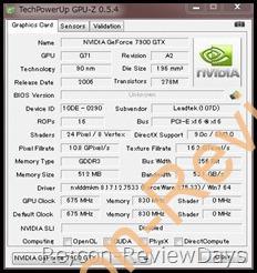 GPU-Z 0.5.4の文字が小さい