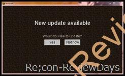MineCraft 1.0 正式版が配布開始