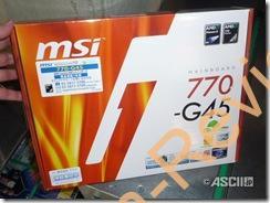 MSIよりAMD 770を搭載するマザー「770-G45」が発売開始