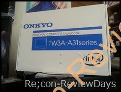 ONKYO製スレートPCを購入、しかし初期不良・・・