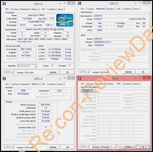 Lenovo Thinkpad X1 Carbon (3444A13) パフォーマンスをチェックする (2/2)