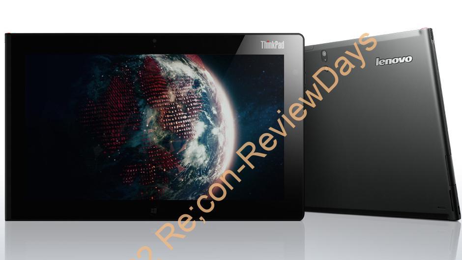 Lenovo Thinkpad Tablet2 (368229J) 外観をチェックする (1/2)