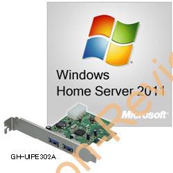 Microsoft Windows Home Server 2011 USB3.0ボード付きが4,780円、送料無料!