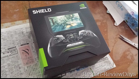 Nvidia Android搭載のSHIELDが到着しました