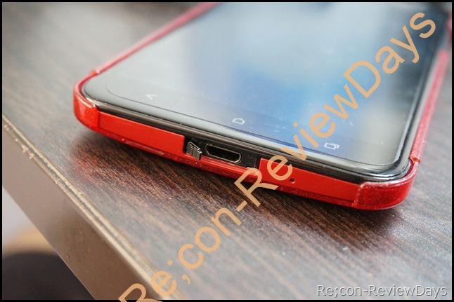 HTC J Butterfly (HTL21)のmicroUSBカバーが破損