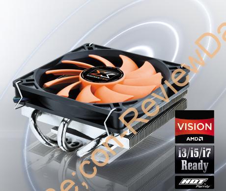 高さ4.4cm、Mini-ITX向けCPUクーラーXIGMATEK『Praeton (LD963)』)』 外観をチェックする (1/2)