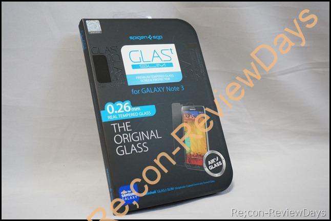 GALAXY Note 3向けスクリーンプロテクターSPIGEN SGP GLASt SLIMを購入