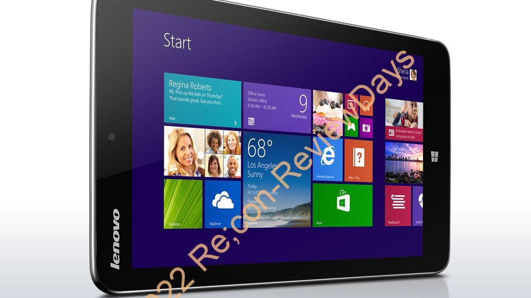 Lenovo、8インチBayTrail-T搭載Windows 8.1タブレット「Miix 2 8」を発表、最軽量350g、最安42,800円から