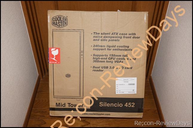 CoolerMaster 静音向けPCケース「Silencio 452」の外観をチェックする (1/2)