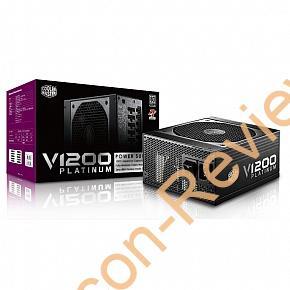 Cooler Master 80PLUS Platinum対応1200W電源「V1200 Platinum」を検証する