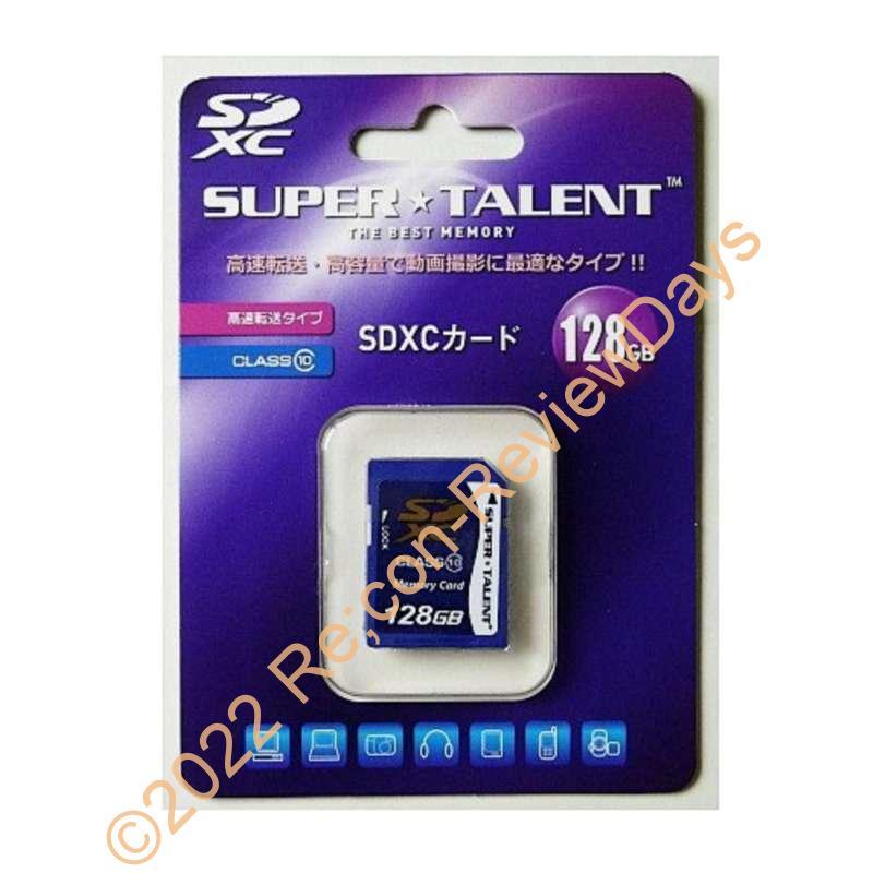 128GBで約6,000円というコストパフォーマンスを発揮するSuperTalent製SDXCカード「ST28SDC10」をチェックする