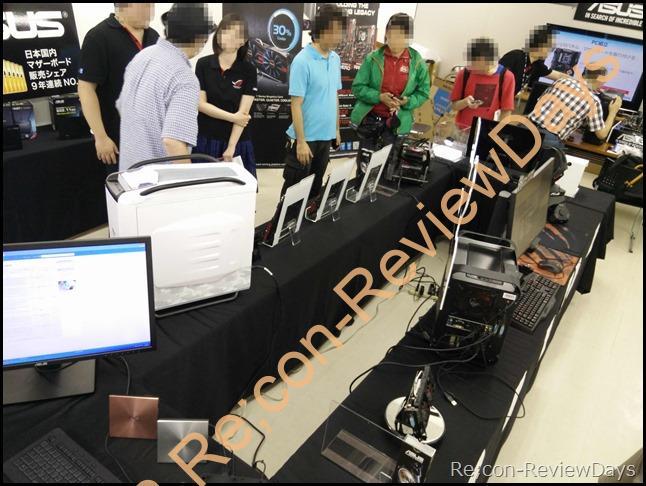2014年8月9日「台風何それ?ASUS最新製品大阪上陸」イベント参加レポート